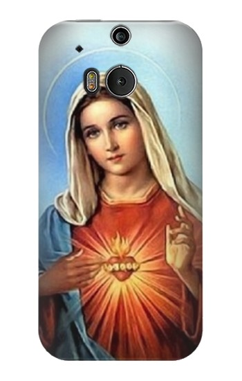 Printed The Virgin Mary Santa Maria HTC One M8 Case