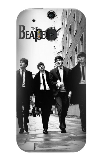Printed The Beatles in London HTC One M8 Case