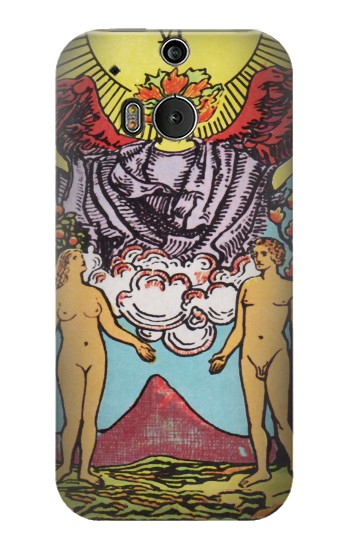 Printed Lovers Tarot Card HTC One M8 Case