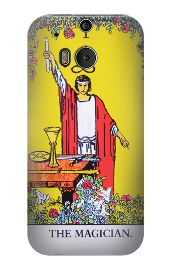 Printed Tarot Card The Magician HTC One M8 Case