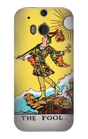Printed Tarot Card The Fool HTC One M8 Case