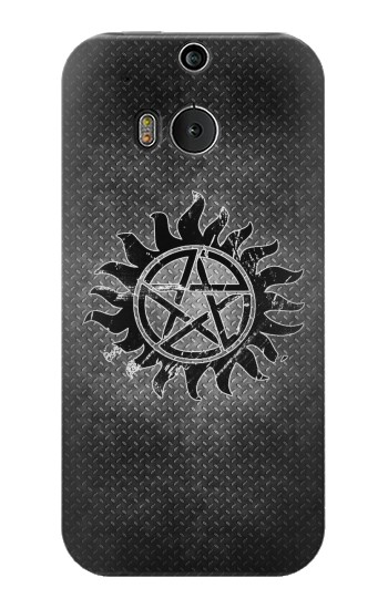 Printed Supernatural Antidemonpos Symbol HTC One M8 Case