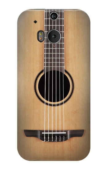 Printed Classical Guitar HTC One M8 Case