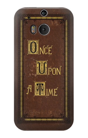 Printed Once Upon a Time Book Cover HTC One M8 Case