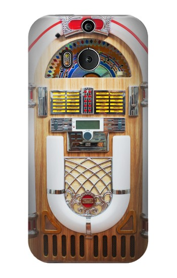 Printed Jukebox Music Playing Device HTC One M8 Case