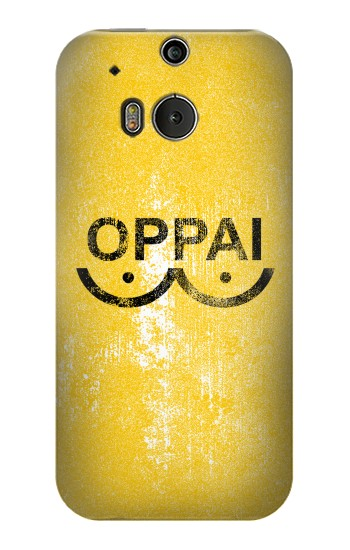 Printed Oppai One-Punch Man Symbol HTC One M8 Case