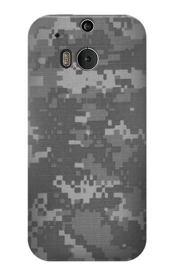 Printed Army White Digital Camo HTC One M8 Case