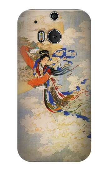 Printed Chang-E Moon Goddess HTC One M8 Case