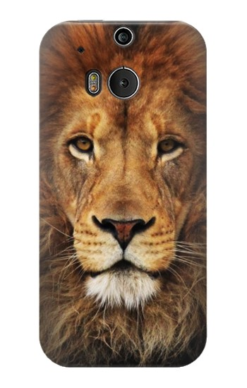 Printed Lion King of Beasts HTC One M8 Case