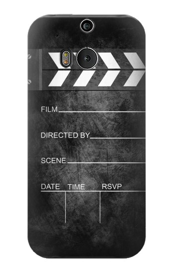 Printed Vintage Director Clapboard HTC One M8 Case