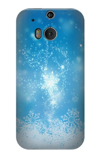 Printed Snow Spell Magic HTC One M8 Case
