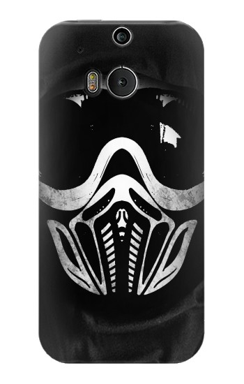 Printed Paintball Mask HTC One M8 Case