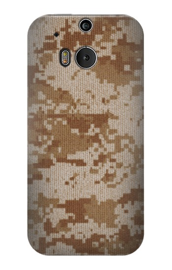 Printed Desert Digital Camouflage HTC One M8 Case