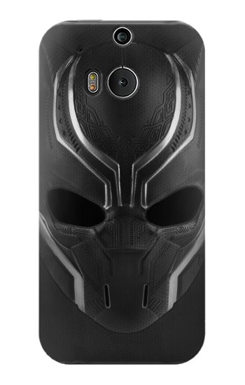 Printed Black Panther Mask HTC One M8 Case