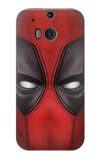 Printed Deadpool Mask HTC One M8 Case