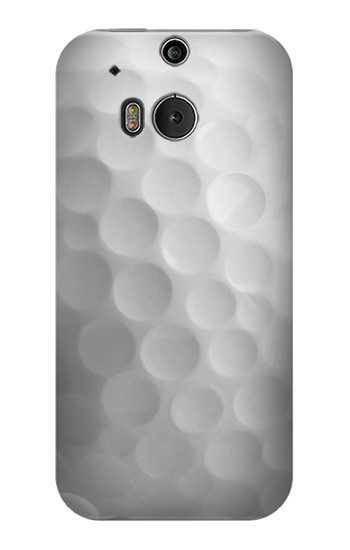 Printed White Golf Ball HTC One M8 Case