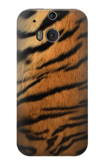 Printed Tiger Stripes Texture HTC One M8 Case
