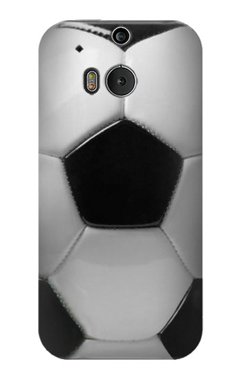 Printed Soccer Football Ball HTC One M8 Case