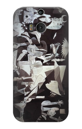 Printed Picasso Guernica Original Painting HTC One M8 Case