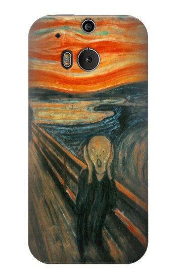 Printed Edvard Munch Scream Original Painting HTC One M8 Case