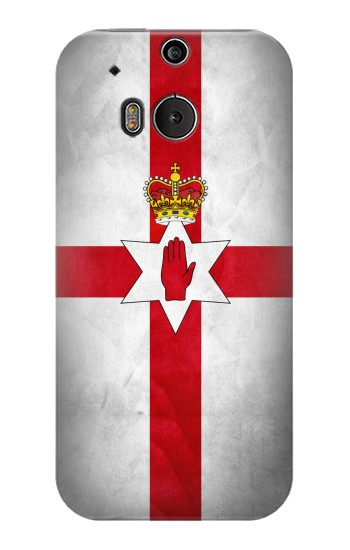 Printed Northern Ireland Flag HTC One M8 Case