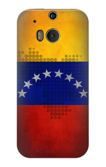 Printed Venezuela Map Flag HTC One M8 Case