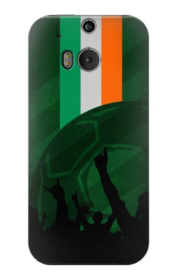 Printed Ireland Football Flag HTC One M8 Case
