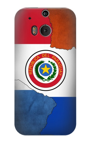 Printed Paraguay Flag HTC One M8 Case