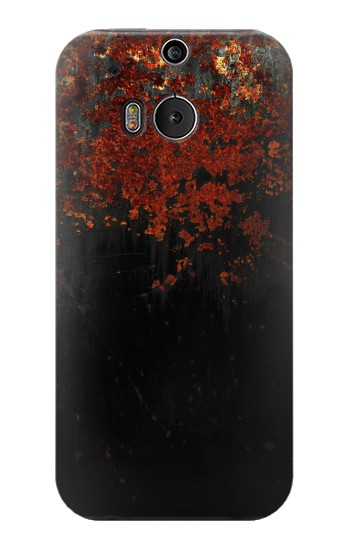 Printed Rusted Metal Texture HTC One M8 Case