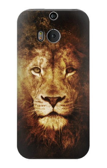 Printed Lion HTC One M8 Case