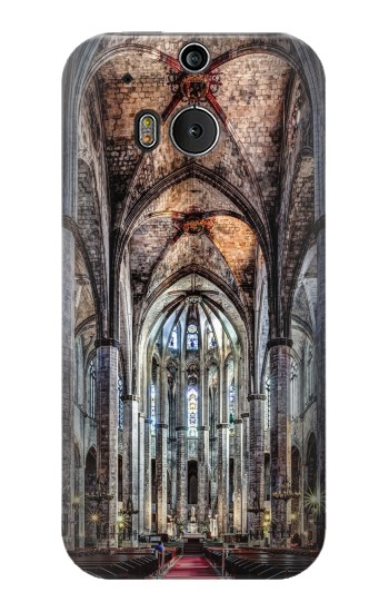 Printed Santa Maria Del Mar Cathedral HTC One M8 Case