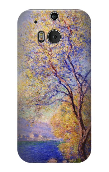 Printed Claude Monet Antibes Seen from the Salis Gardens HTC One M8 Case