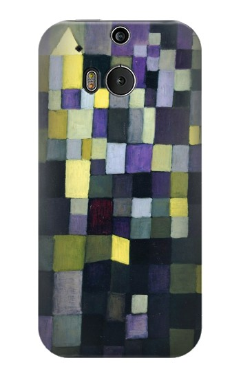 Printed Paul Klee Architecture HTC One M8 Case