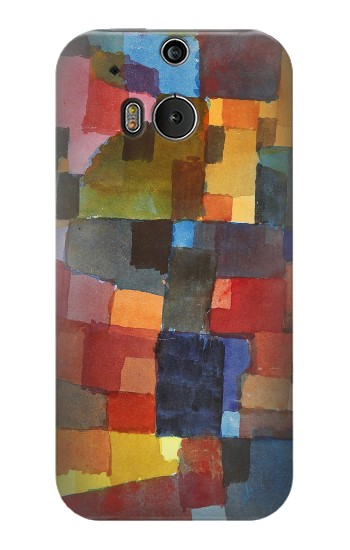 Printed Paul Klee Raumarchitekturen HTC One M8 Case