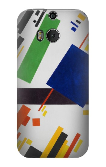 Printed Kazimir Malevich Suprematist Composition HTC One M8 Case