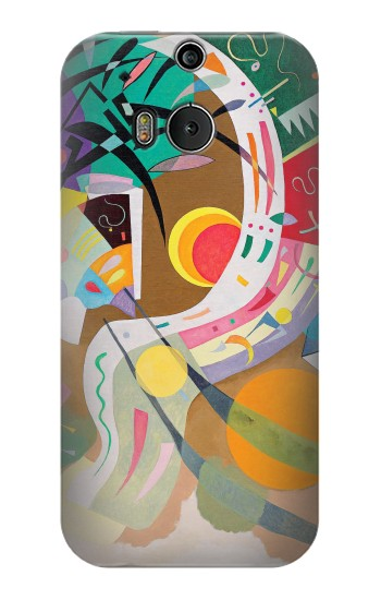 Printed Vasily Kandinsky Guggenheim HTC One M8 Case
