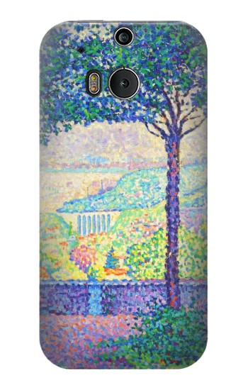 Printed Paul Signac Terrace of Meudon HTC One M8 Case