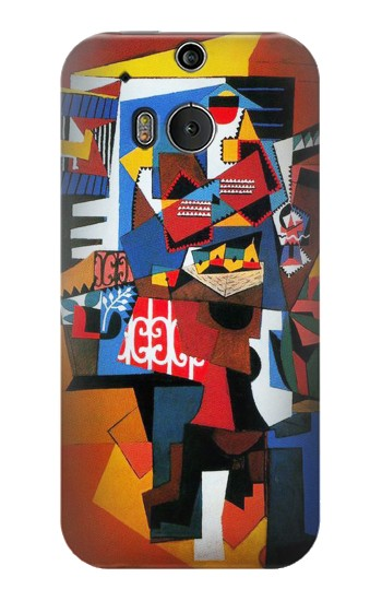 Printed Picasso The Bird Cage HTC One M8 Case