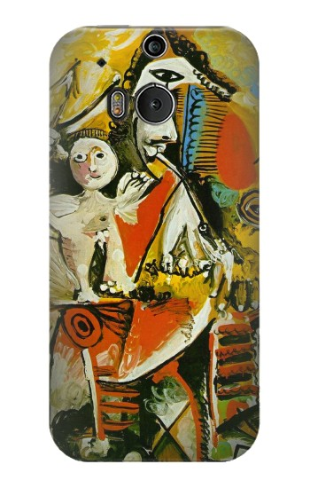 Printed Picasso Painting Cubism HTC One M8 Case