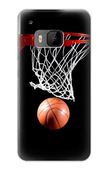 Printed Basketball HTC One M9 Case