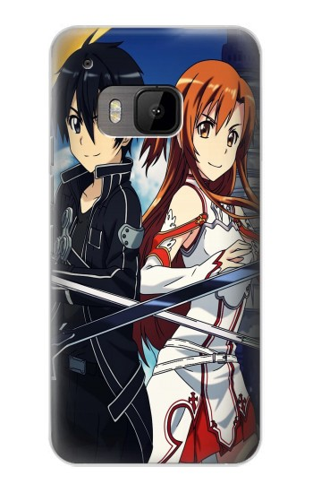 Printed Sword Art Online HTC One M9 Case