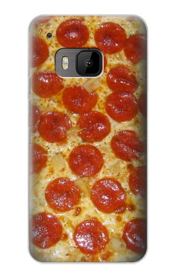 Printed Pizza HTC One M9 Case