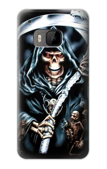 Printed Grim Reaper HTC One M9 Case