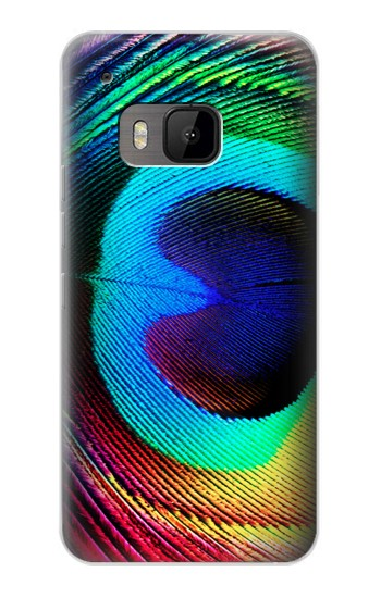 Printed Peacock HTC One M9 Case