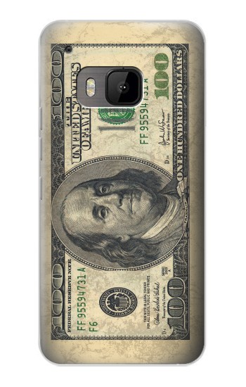 Printed Money Dollars HTC One M9 Case