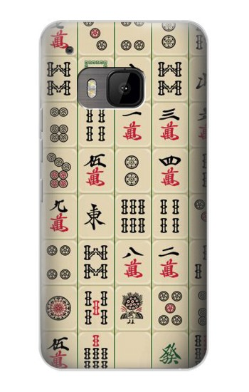 Printed Mahjong HTC One M9 Case
