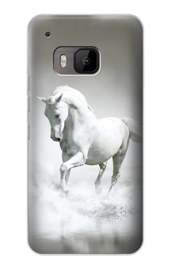 Printed White Horse HTC One M9 Case