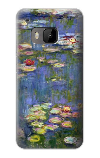 Printed Claude Monet Water Lilies HTC One M9 Case