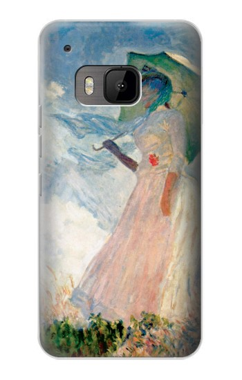 Printed Claude Monet Woman with a Parasol HTC One M9 Case