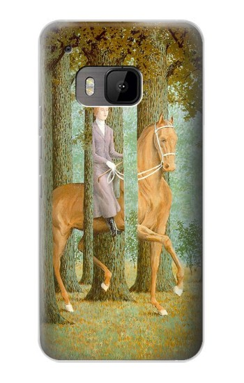 Printed Rene Magritte The Blank Signature HTC One M9 Case